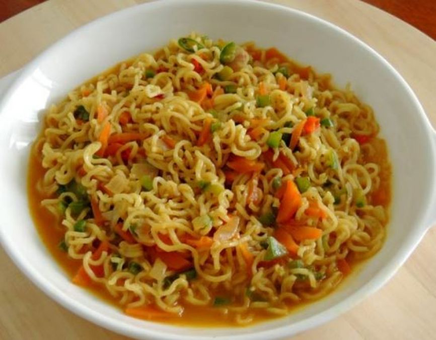 Recipe: Make Fried Masala Maggie in This way to make your kids