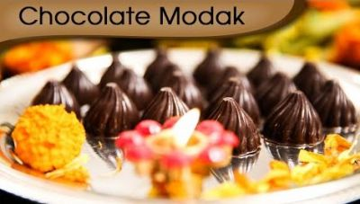 Recipe: This time make Chocolate Modak Surprise for Lord Ganesha
