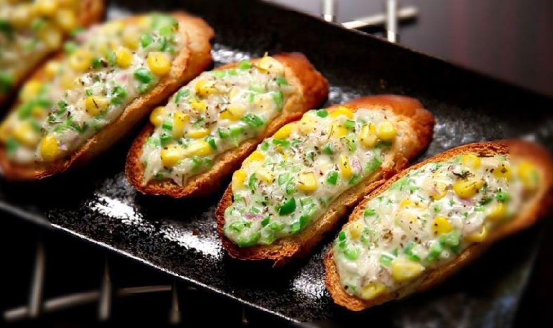 Recipe: Enjoy 'Corn Cheese Toast' in the rainy season