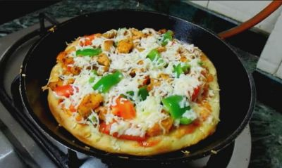 Recipe: Can make tasty pizza without oven at home