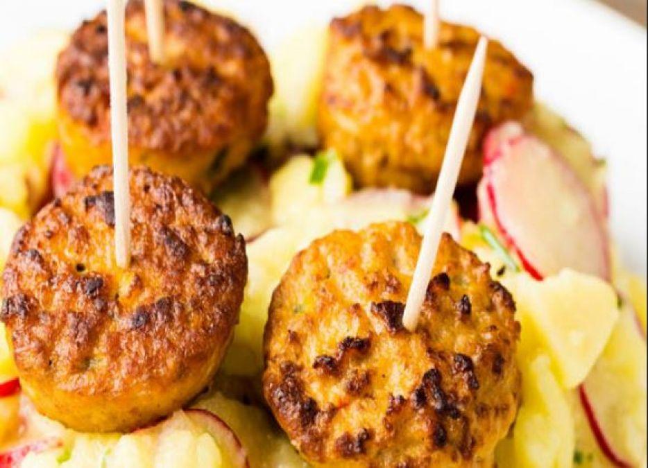 Recipe: Make Party dishes at home, tandoori potato tikka will be special