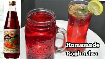 Recipe : घर में इस तरह बनाएं रूह अफ़ज़ा