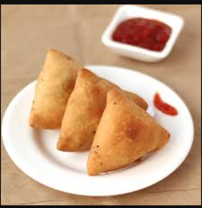 This paneer stuffed samosa recipe is perfect for snack