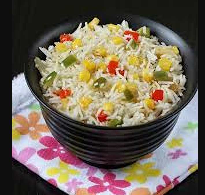 Bored with old plain rice, then try this corn fried rice