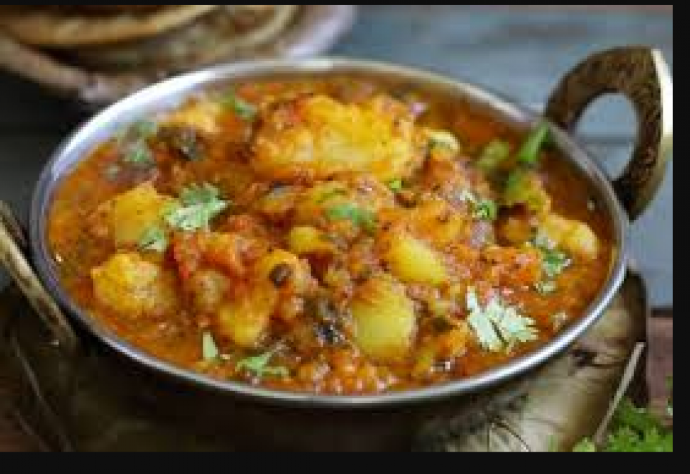 Recipe: Know how to make Mustard Potato vegetable, eat it with