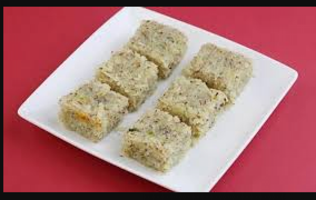 Make delicious Pinaaaple coconut Barfi with this