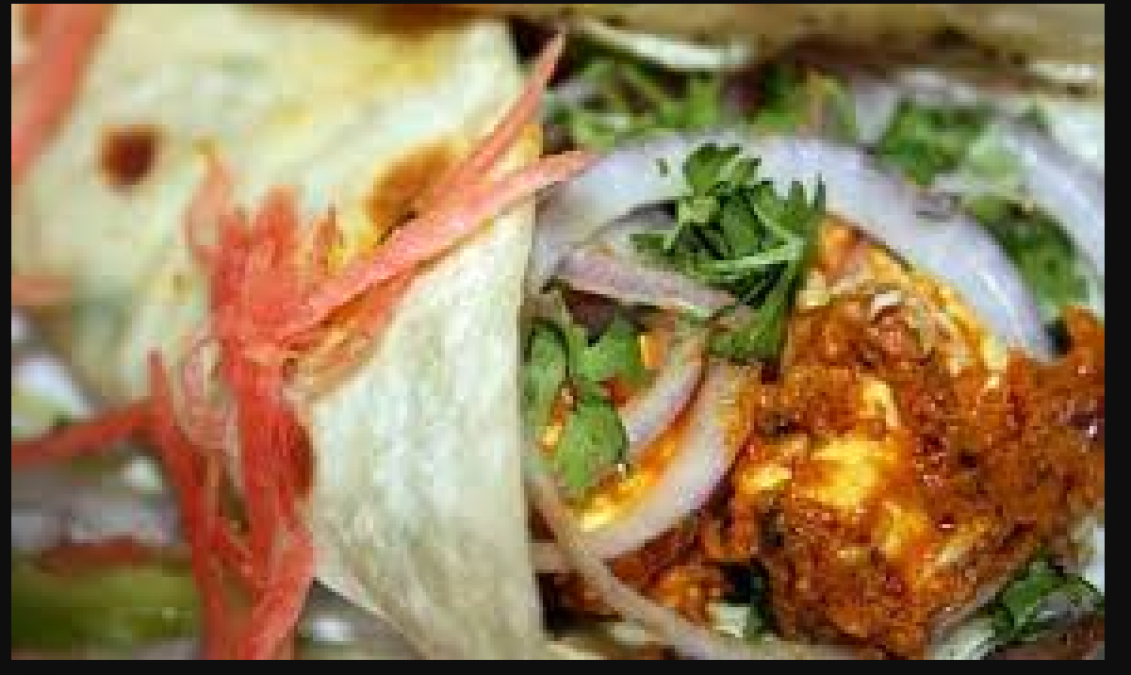 Recipe: Know how to make North Indias famous Paneer Tikka Kathi Roll at
