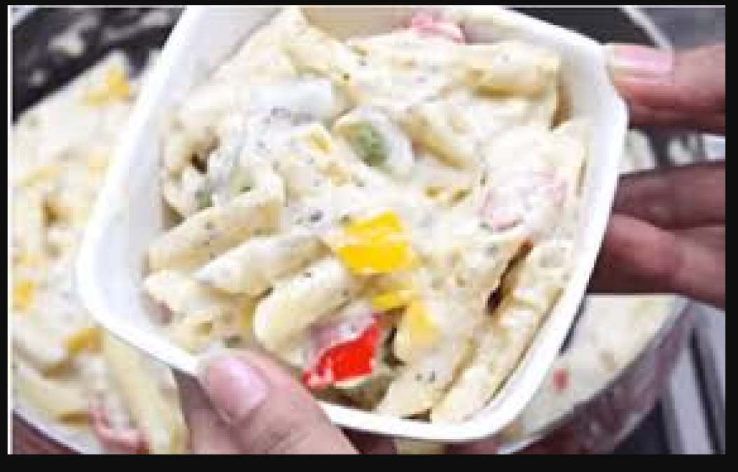 Enjoy Chinese dish with the recipe of white sauce