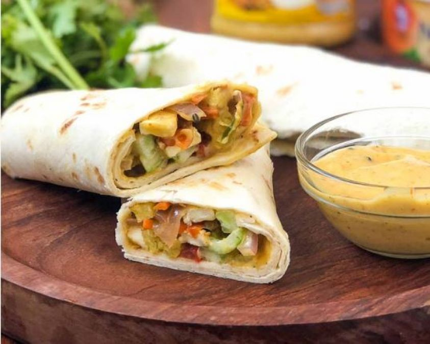 Recipe: Maker delicious Paneer Frankie Roll for your children
