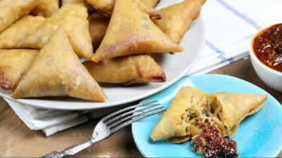 Recipe: You must have never had Fried Rice Samosa, know how to make!