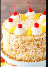 Make birthday or kitty party at home even more special with a pineapple cake