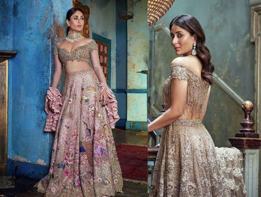 Want to try something new in the bridal look? follow Kareena Kapoor's look