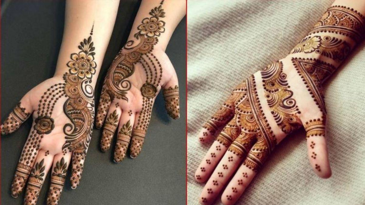 Try these mehndi designs on the occasion of Raksha Bandhan