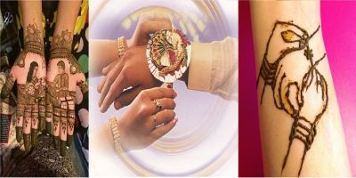 These mehndi designs will make hands even more beautiful on the occasion of Raksha Bandhan