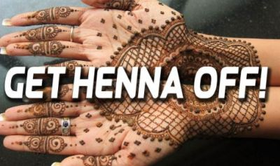 Want to remove Mehendi? follow these tips!