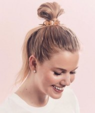 Include these bun cuffs in your hairstyle to get a stylish look