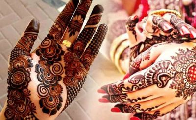 Complete your makeup with these latest mehndi designs on the occasion of Hartalika Teej