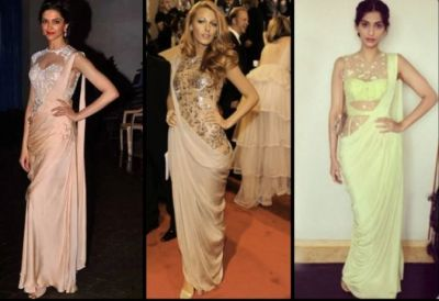 Innovative Saree Draping Styles for Glamorous Look
