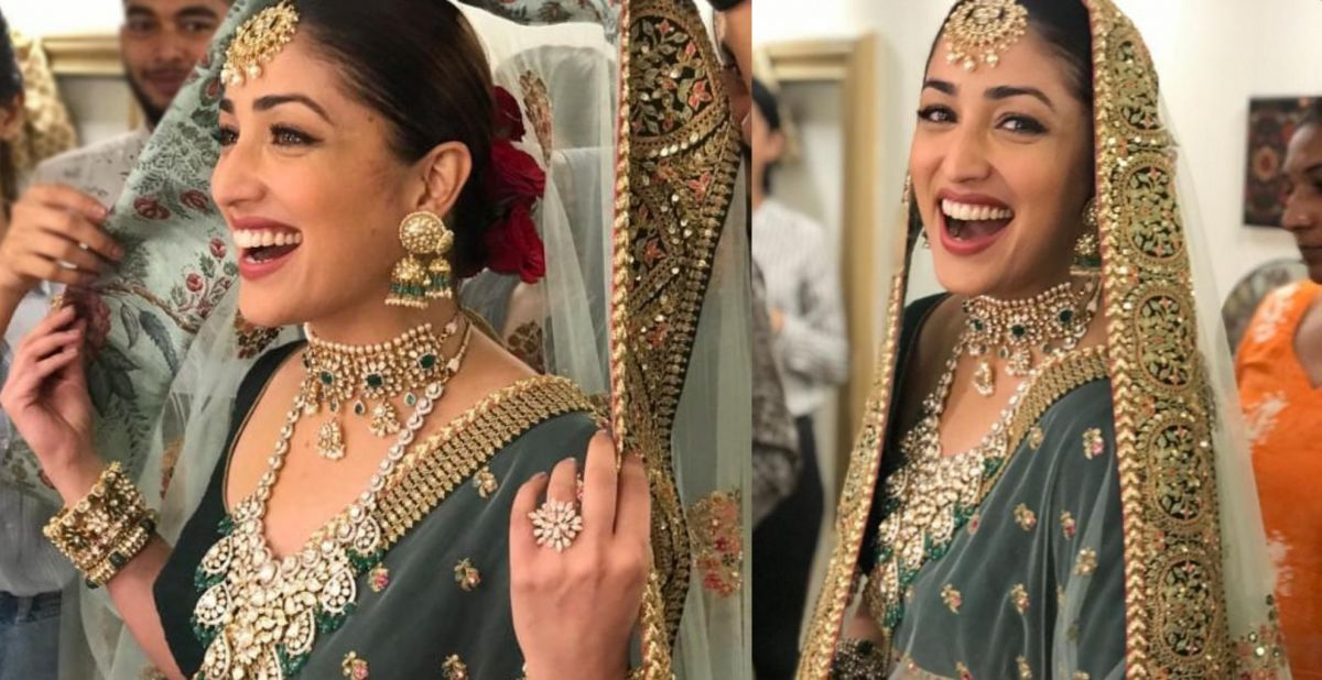 You can also follow Yami Gautam's latest look at your wedding!