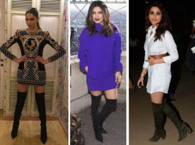 Follow this Bollywood style boot trend to look like Actress
