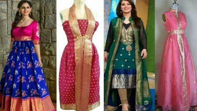 Gives a new look to old Banarasi Saree, Will Change Style