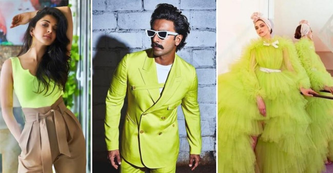 Boys can also follow Neon Colour fashion as these actors did....