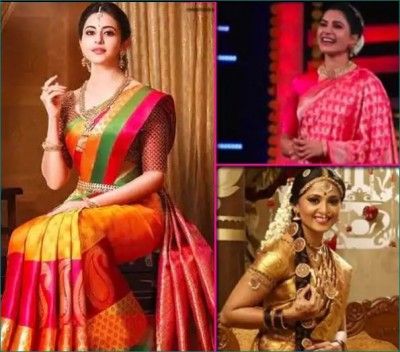Karvachauth: Take tips from these South actresses if you wish to wear Banarasi saree