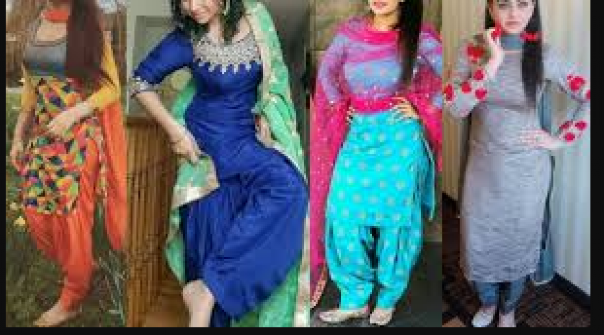 Punjabi Suit Gives Perfect Touch To Every Festive Look Try With Different Style News Track Live Newstrack English 1