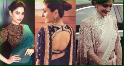 After Wearing this fabulous blouse, you can look different on Karvachauth