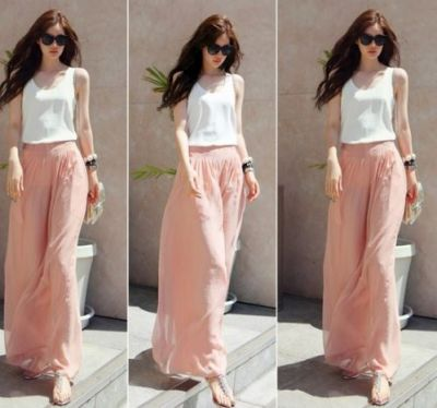 Such pants are trending in girls' fashion!