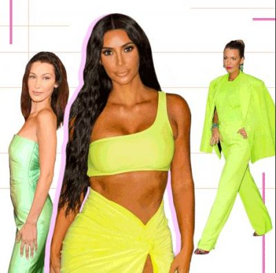 Want to look attractive at a party? try this Neon Color