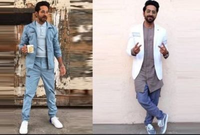 If you want to look cool in cool weather, then take jacket tips from Ayushmann