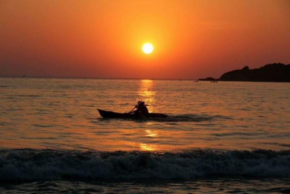 भारती की इन जगहों पर जा कर ले सकते हैं सूर्यास्त का अद्भुद नज़ारा