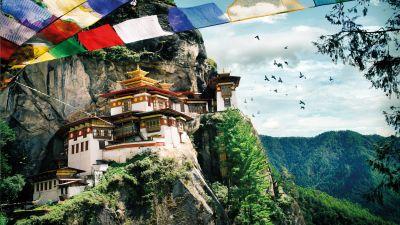 लीजिये भूटान की खूबसूरती का मजा