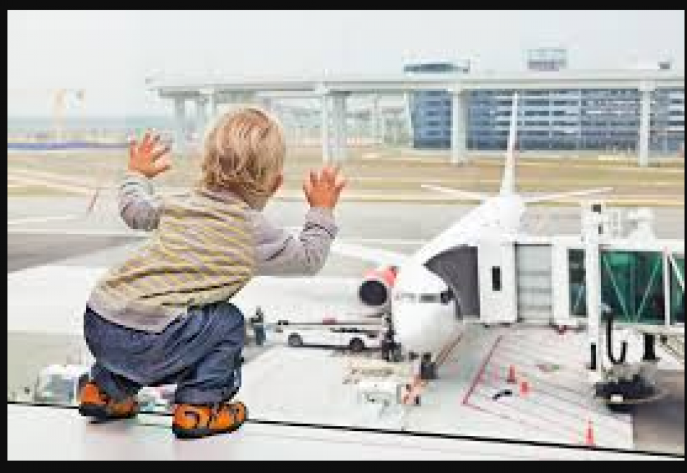 If you are traveling with your kid alone in the flight, follow these