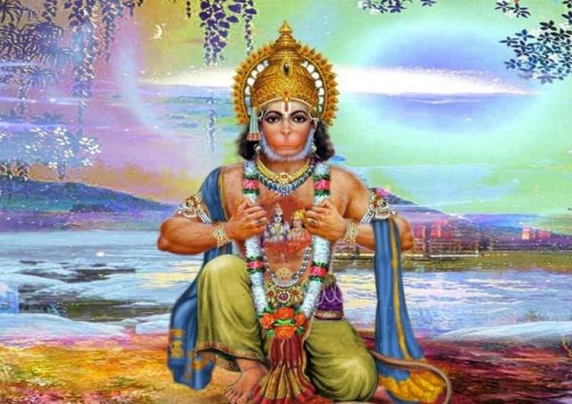 हर 41 वर्षो में यहां आते हैं भगवान हनुमान