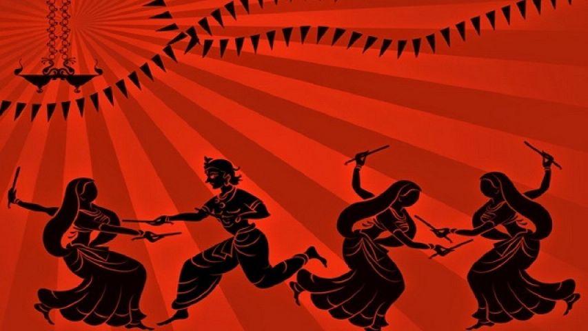 9 शक्तिशाली दिन दुर्गा, लक्ष्मी और सरस्वती के