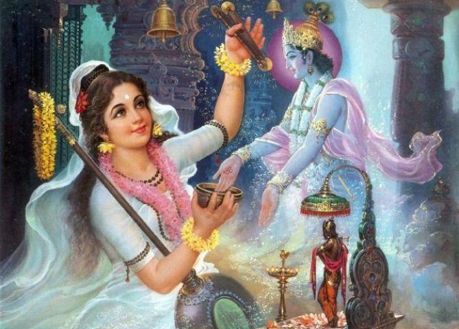 प्रेरक प्रसंग- कृष्णभक्त मीरा !!