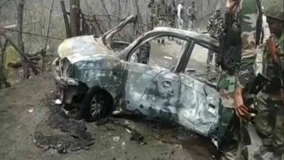 CRPF convoy's car blast suspected Hizbul terrorist  arrested in J&क