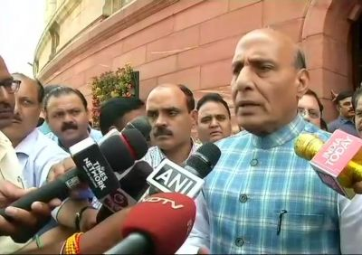Bharat Bandh on SC/ST Act: Rajnath Singh urges all political parties and groups to maintain peace