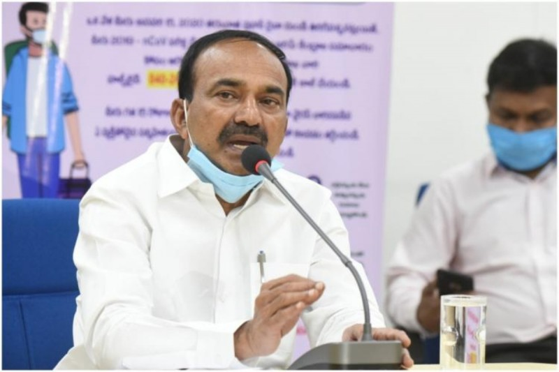 तेलंगाना में अभी भी नियंत्रण में है कोरोना की दूसरी लहर: स्वास्थ्य मंत्री