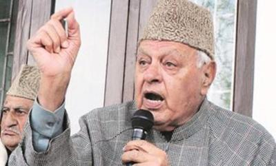 National Conference chief Farooq Abdullah threaten BJP over manifesto provision on Article 370 and 35A