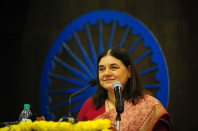 Maneka Gandhi criticizes films for emerging violence against women