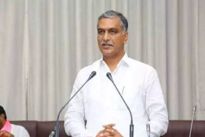 Finance Minister T Harish Rao  inaugurated an open Gym in Hyderabad