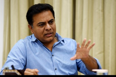 Minister KT Rama Rao to lay foundation another development project in Warangal
