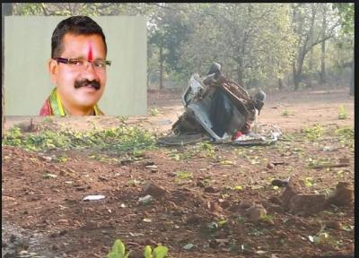 BJP MLA killed in Naxals attack, barely two days ahead of First phase LS Poll