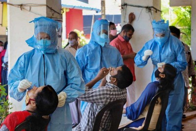 Telangana : 2909 new corona cases reported within 24 hours, six deaths