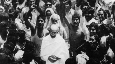 India's first civil noncompliance movement- Champaran Satyagraha