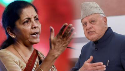 Nirmala Sitaraman gave meaningful advice to Farooq Abdullah on releasing threatening talk