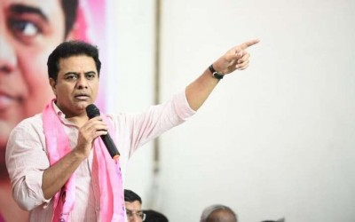 MA&UD Minister KT Rama Rao speaks up on Vaccine shortage